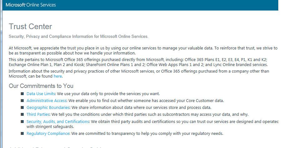 Microsoft Services Agreement